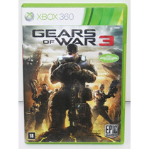 Gears Of War 3 (legendado / Original) - Xbox 360