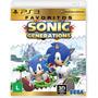 Sonic Generations ( 3d ) Coleção Favoritos { Ps3 }