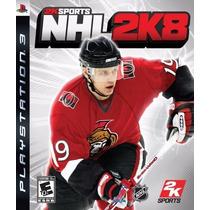 Jogo Novo 2k Sports Nhl 2k8 Para Playstation 3 Ps3