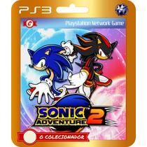 Sonic Adventure 2 + Brinde! (código Ps3) O Colecionador