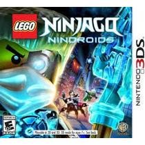 Jogo Novo Lacrado Lego Ninjago Nindroids Para Nintendo 3ds