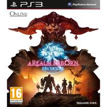Jogo Novo Final Fantasy Xiv A Realm Reborn Região 2 Ps3