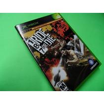 187 Ride Or Die Original Xbox Antigo 1° Geração