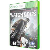 Watch Dogs Signature Edition Português Xbox 360 Lacrado Orig