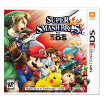 Super Smash Bros. For 3ds Americano Frete Grátis