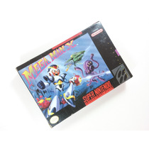 Cartucho Super Nintendo - Megaman X - Completo,americano