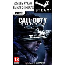 Call Of Duty Ghosts Original Steam Key Pc