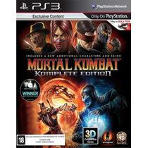 Mortal Kombat 9 Komplete Edition Português Ps3