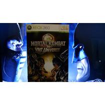 Manual Do Jogo X360 Mortal Kombat Vs. Dc Universe