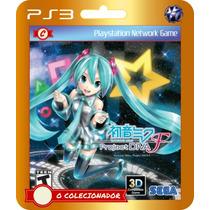 Hatsune Miku: Project Diva F (código Ps3) O Colecionador
