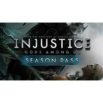 Dlc Season Pass 1 Injustice + Brinde Ps3[super Promo]