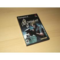 Ps2 - Resident Evil 4 (americano)
