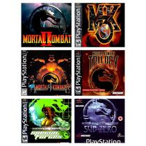 Mortal Kombat Coleção 2 3 4 Trilogy Sub Zero Pacth Ps1 Ps2