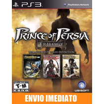 Prince Of Persia Classic Trilogy Hd Ps3 Cód Psn Envio Agora
