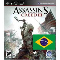 Assassins Creed 3 Portugues Ps3 Psn Midia Digital