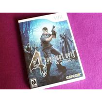 Resident Evil 4 Original, Usado, Completo - Nintendo Wii