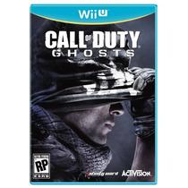 Jogo Novo Lacrado Call Of Duty Ghosts Para Nitendo Wii U