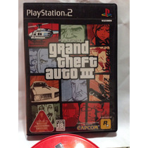 Cd De Play 2 Original Gran Theft Auto 3. Gta