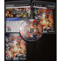 Playstation 3 - Street Fighter Vs Tekken Completo