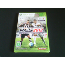 Dvd X-box 360 Pes 2012 (proevolution Soccer)