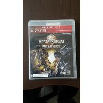 Game Mortal Kombat Vs. Dc Universe - Ps3 (novo Lacrado)