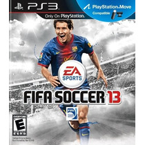 Fifa Soccer 2013 - Playstation 3 Original Novo!
