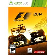 Jogo Novo Lacrado Ntsc Fórmula 1 F1 2014 Para Xbox 360