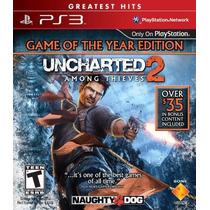 Uncharted 2 Among Thieves Jogo Ps3 Playstation Pronta Entreg