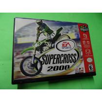 Super Cross 2000 Original Com Caixa Nintendo 64 N64