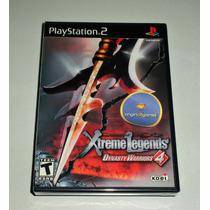 Dynasty Warriors 4 Xtreme Legends | Jogo Ps2 | Original