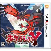 Pokemon Y 3ds Japonês