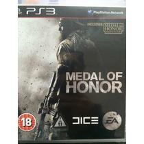 Medal Of Honor Ps3 (2 Em 1) Frete Gratis