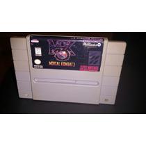 Mortal Kombat 2 - 3 Jogo De Luta Para Super Nintendo Snes