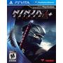 Jogo Novo Lacrado Ninja Gaiden Sigma 2 Plus Para Ps Vita