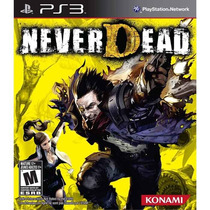 Never Dead Playstation 3 Ps3 Original Lacrado Rcr Games