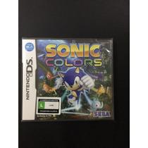 Sonic Colors Nintendo Ds Lacrado!!!!!!!!!