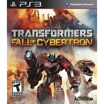 Transformers Fall Of Cybertron Ps3 - Psn (leia A Descrição)