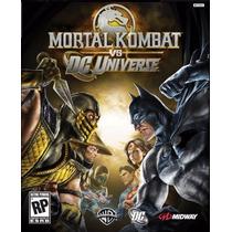 Jogo Mortal Kombat Vs Dc Universe Usado