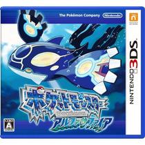 Pokemon Alpha Sapphire 3ds Japonês