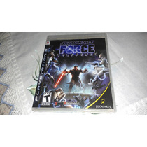 Star Wars Force Unleashed P/ Ps3 Região 1 Usa
