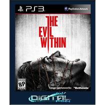 The Evil Within Legendado Pt Ps3 Envio Imediato