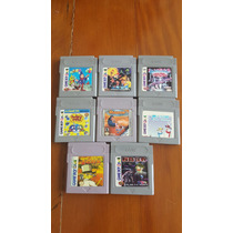 Game Boy 8 Jogos Bubble Bobble, Felix, Home Alone 2, F-14 +4