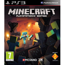 Minecraft Ps3 Psn Midia Digital Original