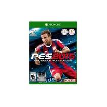 Jogo Fisico Novo Pro Evolution Soccer Pes 2015 Para Xbox One