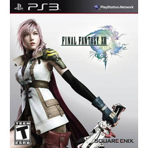 Jogo Ps3 Final Fantasy Xiii Ps3