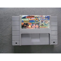 5 Jogos Super Nintendo Congos Caper, Top Gear2, Smurfs, Aste