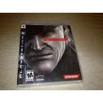 Mgs4 Ps3 Metal Gear Solid 4: Guns Of The Patriots
