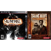 Silent Hill Homecoming Ps3 + Silent Hill Downpour Ps3 Novo