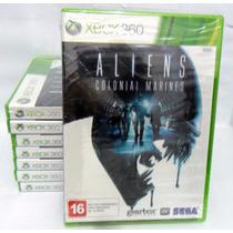 Aliens Colonial Marines Xbox 360 Original, Novo Rcr Games