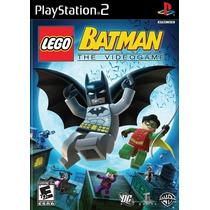 Lego Batman Para Playstation 2 (kit 7 Jogos Ps2 Infantil